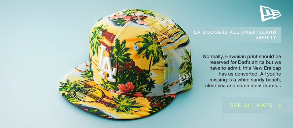 New Era All Over Island cap at schuh