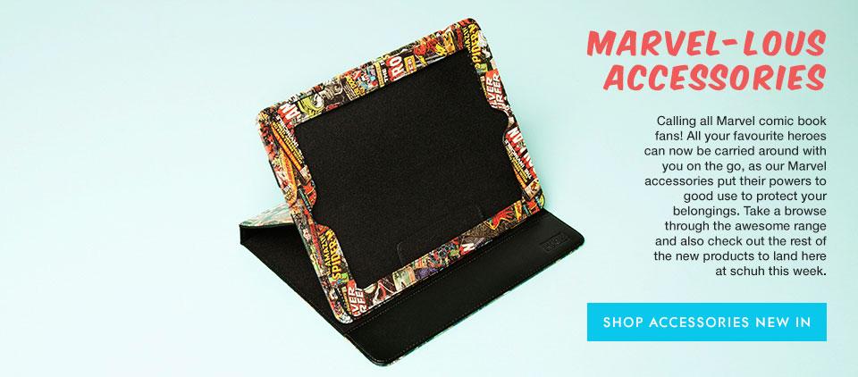 accessories Marvel iPad cases