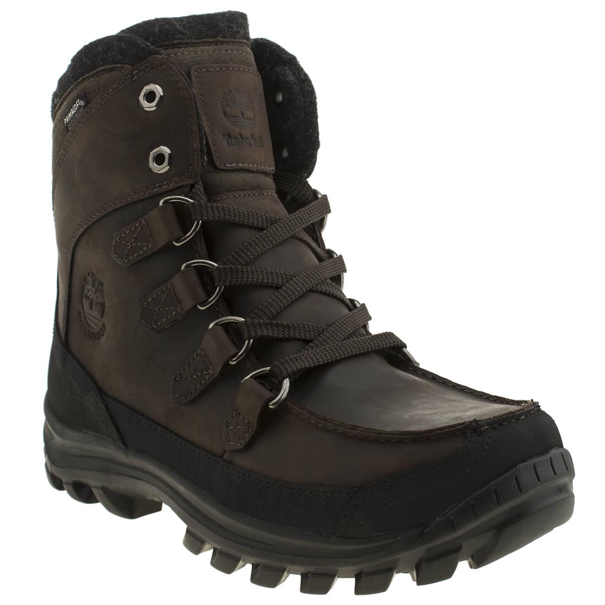 timberland chillberg mens brown nubuck outdoor boots